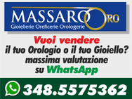 MASSARO OROLOGERIE OREFICERIE RIPARAZIONI OROLOGI logo
