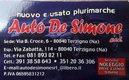 AUTO DE SIMONE logo